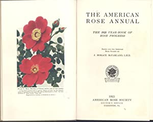 The American rose annual : the 1925: McFarland, John Horace,