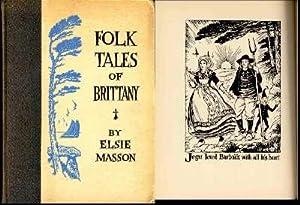 Folk Tales of Brittany.[Castle of Comorre; Basin: Masson, Elsie. [association