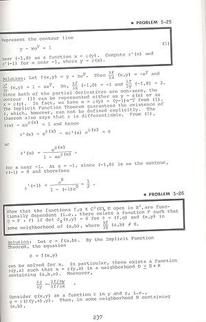 The Advanced calculus problem solver. [Partial Differentiation;: Fogiel, M. ;