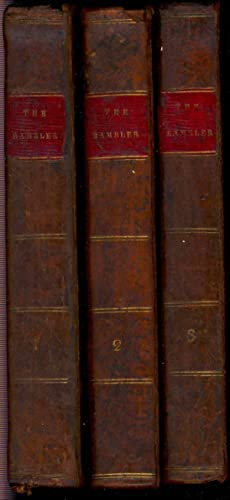 The Rambler, in three volumes. [History of: Johnson, Samuel, 1709-1784.