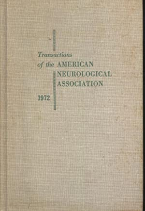 Transactions of the American Neurological Association, Volume: American Neurological Association