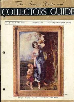 The Antique Dealer and Collectors' Guide. [Vol.16,: Fisher, Stanley W;