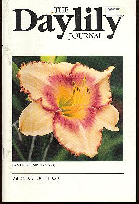 The Daylily Journal : Vol. 44, no.: American Hemerocallis Society.