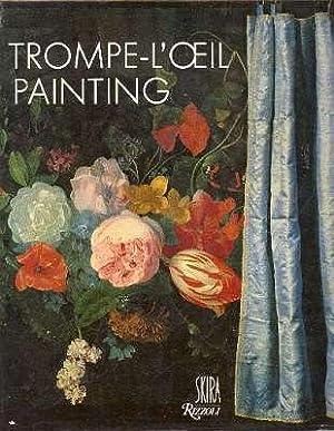 Trompe l'oeil Painting. [Realistic Rendering and Trompe: Milman, Miriam. [design,
