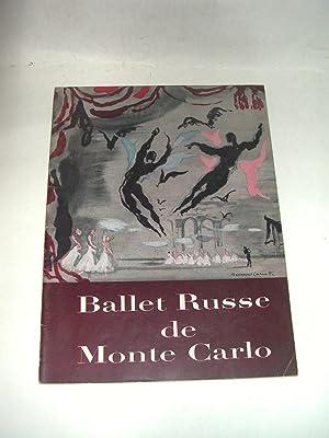 Ballet Russe De Monte Carlo [1954-1955 Season programme]: Denham, Sergei, J. , Director; Ballet ...