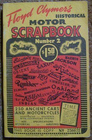 Floyd Clymer's Historical Motor Scrapbook Number 2: Floyd Clymer
