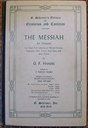The Messiah: G. F. Handel