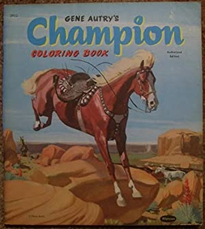 Gene Autry's Champion Coloring Book