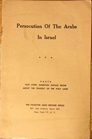 Persecution of the Arabs in Israel