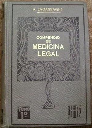 Compendio De Medicina Legal: A. Lacassagne