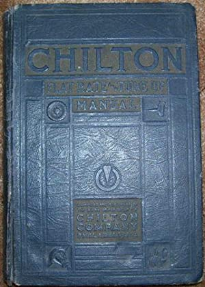 Chilton Flat Rate and Tune-Up Manual - Twelfth Edition: Julian Chase - Directing Editor