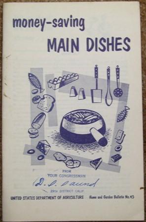 Money-saving Main Dishes