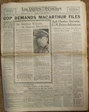 Los Angeles Examiner April 15, 1951