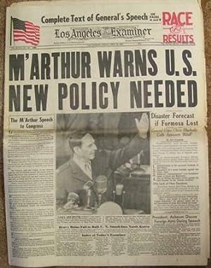 Los Angeles Examiner April 20, 1951