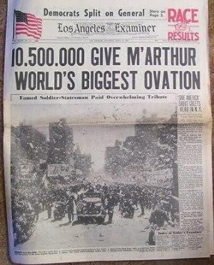 Los Angeles Examiner April 21, 1951