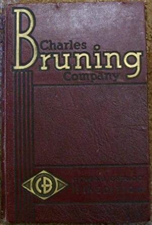 Charles Bruning Company General Catalog 13th Edition: Charles Bruning Company, Inc