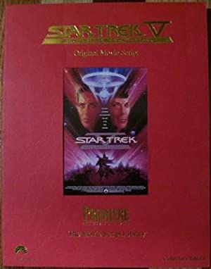 Star Trek V The Final Frontier Original Movie Script