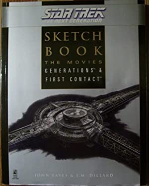 Star Trek The Next Generation Sketch Book The Movies Generations & First Contact