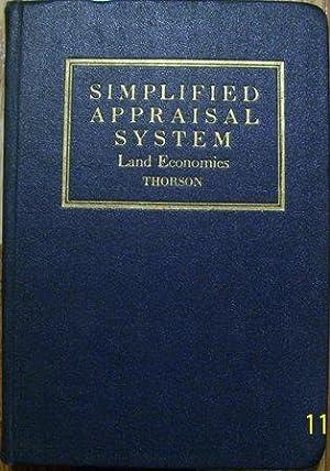 Simplified Appraisal System - Land Economics: Ivan A. Thorson