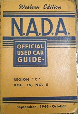 NADA Official Used Car Guide