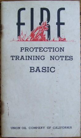 Fire Protection Training Notes Basic