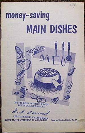 Money-saving Main Dishes: United States Department