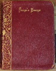 Heine's Poems - Poems Selected from Heinrich Heine, By Kate Freilgrath Kroeker: Heinrich Heine