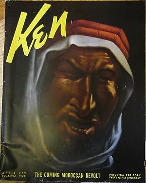 Ken Magazine Vol 1 No 1 April 7th 1938