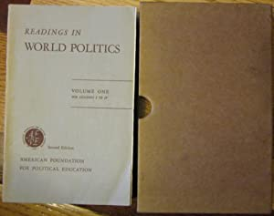 Readings in World Politics Volumes I, II, and III: American Foundation for Political Education