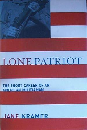 Lone Patriot: Jane Kramer