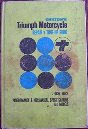 Chilton's Triumph Motorcycle Repair & Tune-Up guide: OCee Ritch