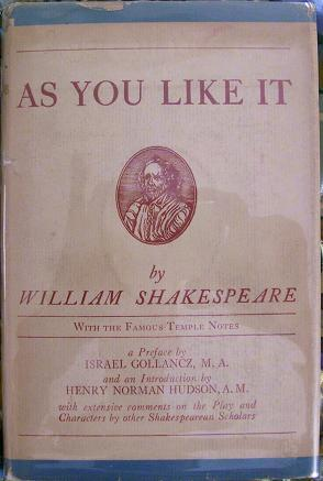 As You Like it: William Shakespeare