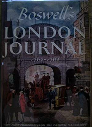 Boswell's London Journal 1762-1763: James Boswell