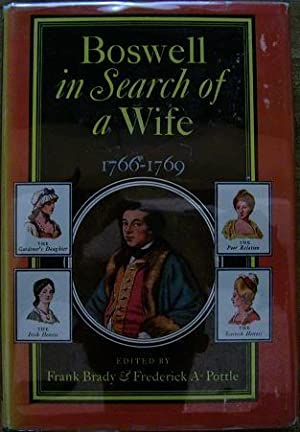 Boswell in Search of a Wife 1766-1769: James Boswell