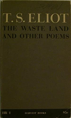 the waste land by eliot essay I am only about halfway through this essay, but i wanted some imput because i have to do something and leave it for a while please leave your comments and specifically, do you like how i almost quoted myself in those last sentences (in reference to my thesis) t s eliot's the waste land relates.