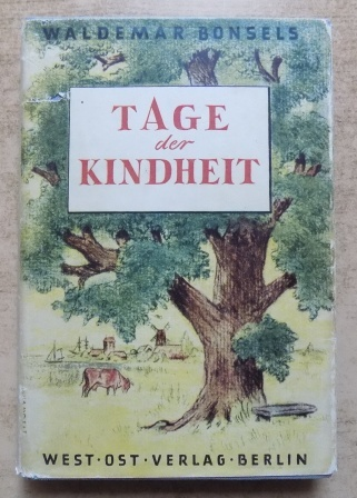 Tage der Kindheit.: Bonsels, Waldemar