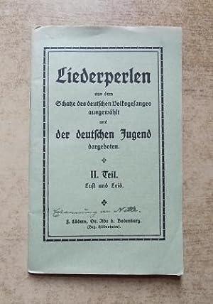 Liederperlen - Aus dem Schatze des deutschen
