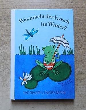 was macht der frosch im winter von lindemann werner der kinderbuchverlag berlin 9783358002292. Black Bedroom Furniture Sets. Home Design Ideas