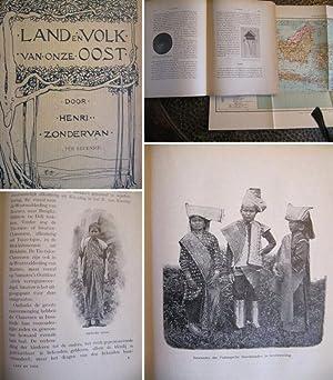 Land en Volk van onze Oost. ('in het bijzonder van Java' = dies nur auf Titelblatt innen,...