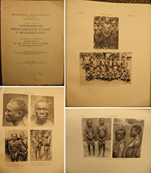Anthropologie stredoafrickych Pygmeju v Belgickem Kongu / Anthropology of the Central African Pyg...