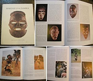 Makishi Lya Zambia. Mask Characters of the: Felix, Marc Leo