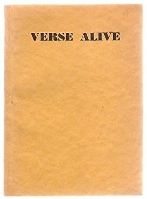 Verse Alive: Rhodes, H. Winston and Denis Glover (selected by)