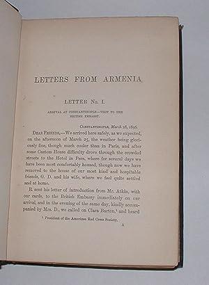 Letters from the Scenes of the Recent Massacres in Armenia: Harris, J. Rendel & Helen Harris