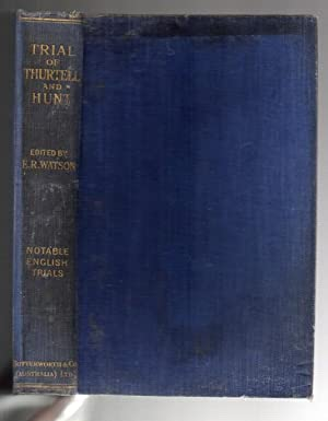 Trial of Thurtell and Hunt: Watson, Eric R.