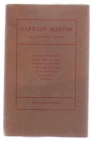 Captain Marion.: Dumas, Alexandre.