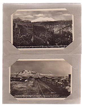 Five New Zealand Railway Postcards + One Volcano Postcard: Beattie, W