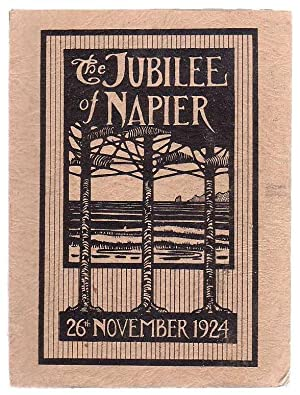 The Jubilee Book Of The Borough Of Napier 1874 - 1924 Jubilee Celebrations, Napier, 26th - 29th ...