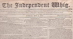 The Independent Whig (Numb. 144, Sunday, Oct 2, 1808)