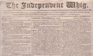 The Independent Whig (Numb. 156, Sunday, December 25, 1808)