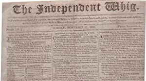 The Independent Whig (Numb. 152, Sunday, November 27, 1808)